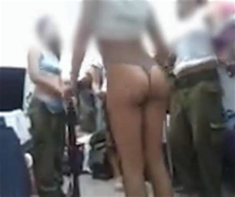 Female israeli soldiers post unbecoming halfnaked jpg 970x816