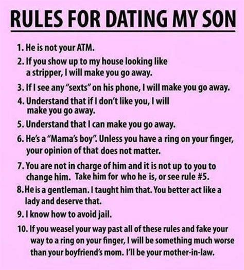 the ten rules for dating my teenage daughter jpg 540x600